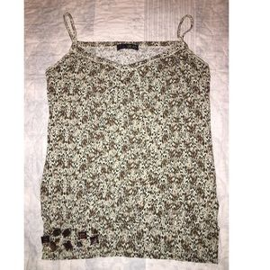 Brown/ green shirt size medium